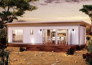 The beauty of these smaller container houses is with good insulation it would take very little effort to keep them nice and warm during the winter or in a cold climate...