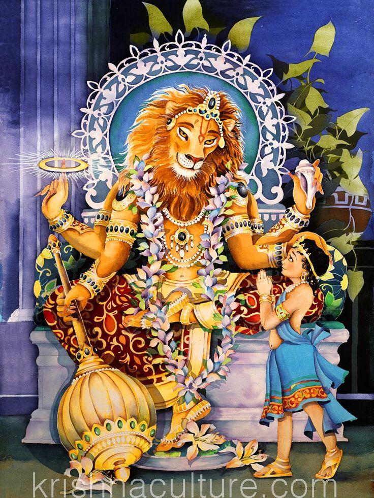 Prahlad Nrsimha Canvas Art