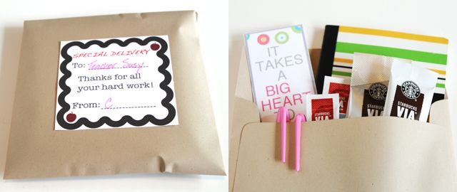Modern Parents Messy Kids: Appreciate Your Favorite Teacher with a DIY Survival Kit