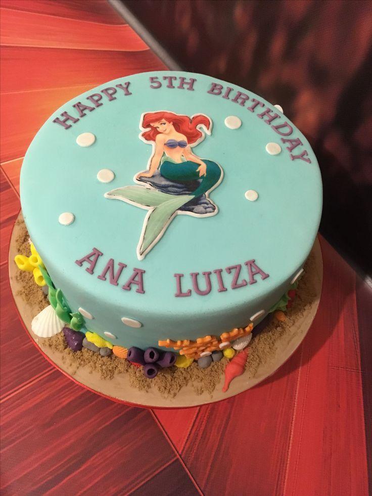 Ariel Cake.