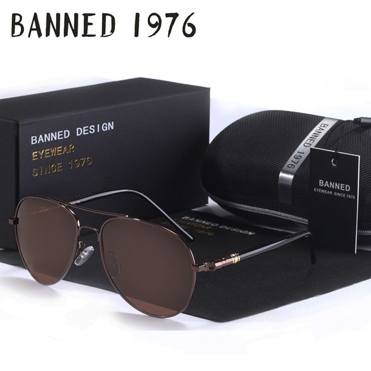 BANNED Brand Designer Cool Polarized Oculos fashion Men women aviatation Sun Glasses UV Sunglasses male driving fishing eyewear #clothing,#shoes,#jewelry,#women,#men,#hats,#watches,#belts,#fashion,#style