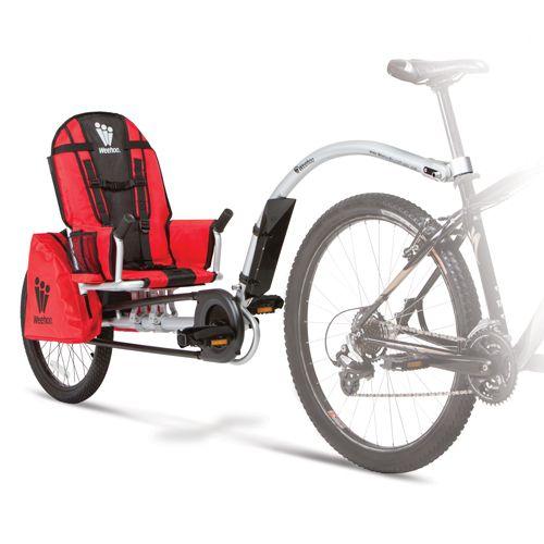 weehoo bike trailer....i WANT one!