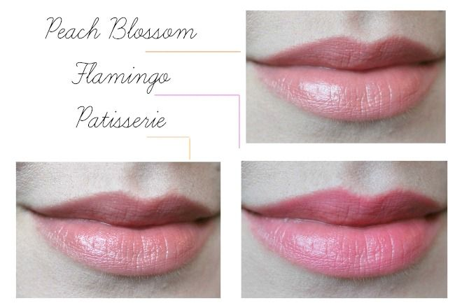 mac peach blossom flaimngo and patisserie