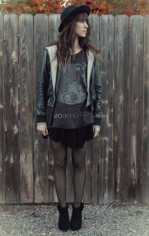 (soft) grunge fashion - more → http://fashiononlinepictures.blogspot.com/2013/09/soft-grunge-fashion.html
