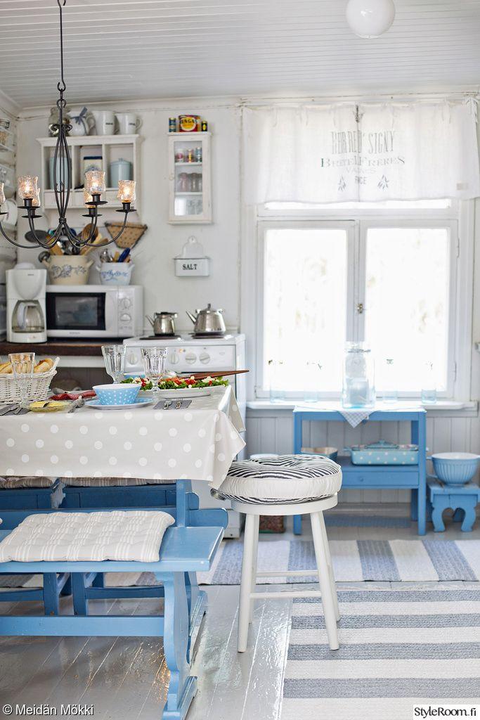 keittiö,tupakeittiö,mökki,maalaisromanttinen: