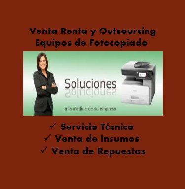 IMPORTADORA EN EQUIPOS DE FOTOCOPIADO E IMPRESIÓN  Variedad en fotocopiadoras, impresoras, multifuncionales en blanco / negro y a color EQUIPOS PARA EVENTOS EN EMPRESAS (HOTELES, SEMINARIOS, CONVENCIONES, CENTROS DE COPIADO) RENTA POR DIAS, SEMANAS, MESES. TENEMOS FINANCIACION PARA LOS EQUIPOS Además todo lo relacionado para su centro de copiado u oficina: Anilladoras, laminadoras, guillotinas, velobinder, papel resma carta y oficio. Contactos: 446 47 89-3203454432 whatsapp O encuéntranos en…