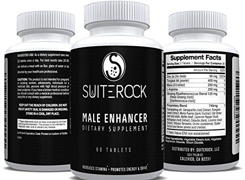 At SuiteRock we take great pride in our supplements and our customer's satisfaction. Our Male Enhancer supplement is no exception. We know how important it is to improve the effects of low testosteron...