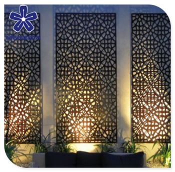 Source decorative laser cut metal screens for interior garden outdoor or courtyard on m.alibaba.com