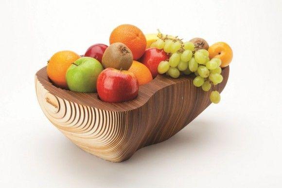 Handmade Wooden Fruit bowl 128   SEMdesign