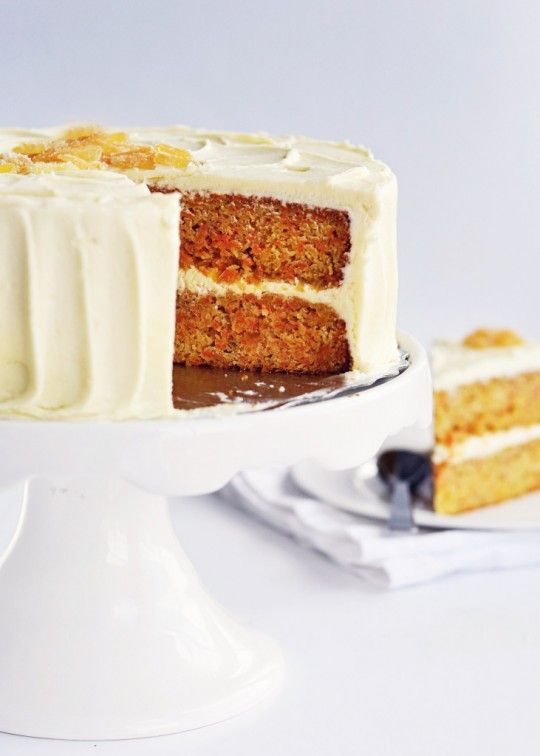 Carrot Ginger Cake via Sweetapolita