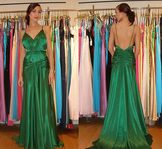 The Look For Less: Keira Knightley's Emerald Green Atonement Dress http://www.faviana.com/