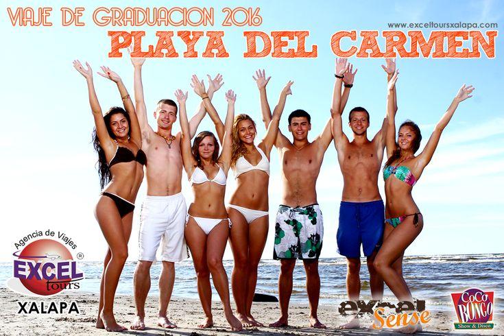 ¿Te gradúas en el 2016?, disfruta de unviaje degraduación a PLAYA DEL CARMENhospedandote en el HB Excel Sense ubicado en la mejor zona de Playa del Carmen: PlayaCar. Ademas de disfrutar de la me...