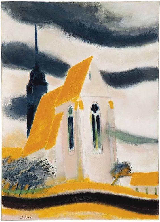 topcat77:  L'Eglise de Fresne en Tardenois (1970) André Brasilier
