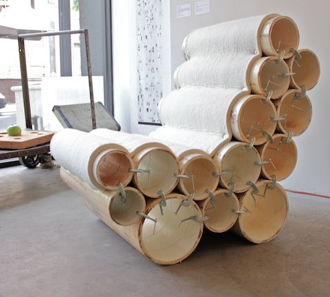 26 Best Images About Paper Tube Chair On Pinterest
