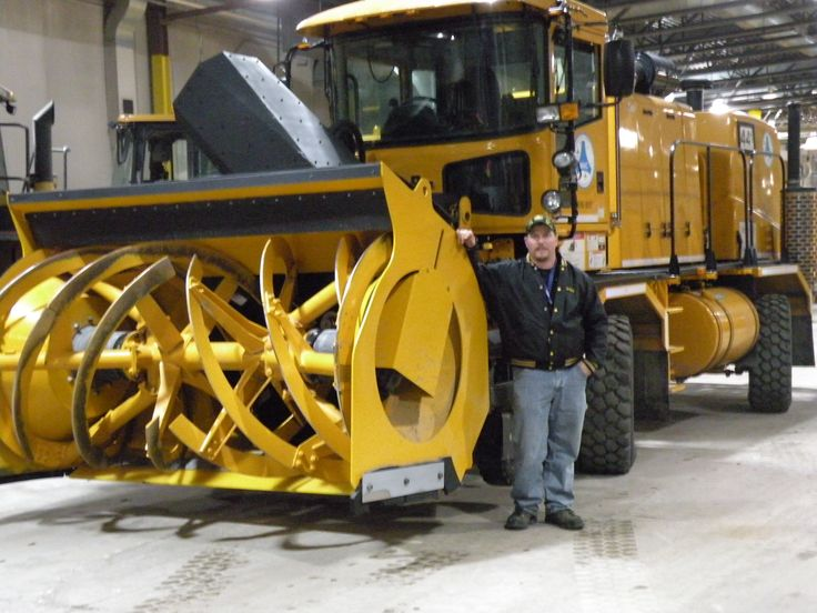Blower Snow Removal Equipment : Big boys snow blower plows and toys pinterest
