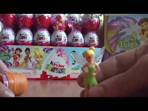 Kinder Lego Fan: Cililing Disney Víla Kinder Surprise Vajíčko Hračk...