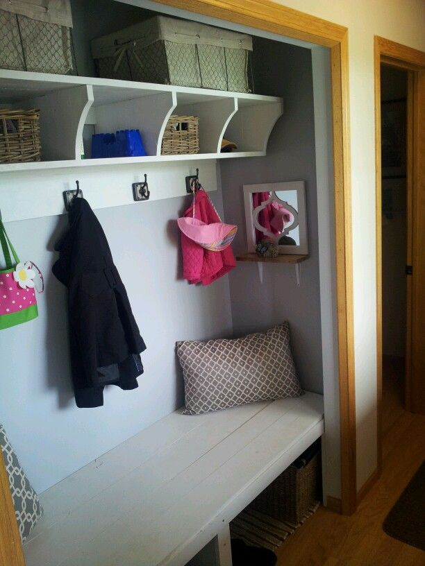 Front closet ;after