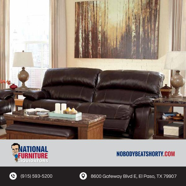 Enjoy The Supple Feeling Of New Leather When You Check Out Prices At National Furniture
