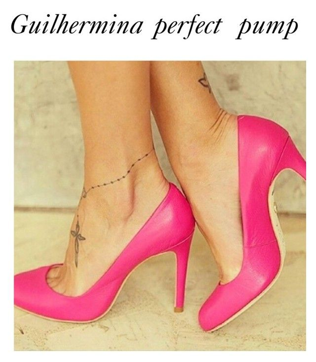 Guilhermina perfect pump by classy-avenue on Polyvore featuring polyvore, fashion, style and clothing