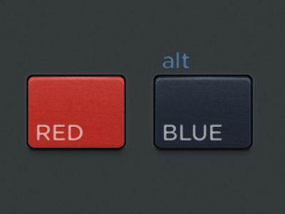 Plastic-buttons
