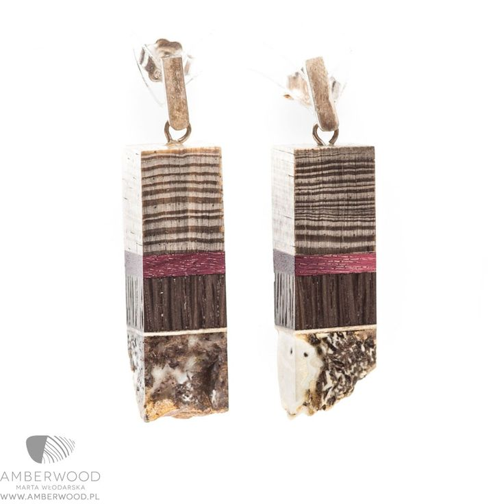 Earrings Amberwood E1a