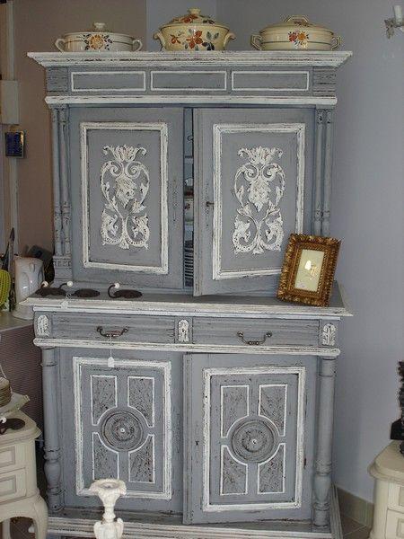buffet henri ii r novation pinterest correspondant. Black Bedroom Furniture Sets. Home Design Ideas