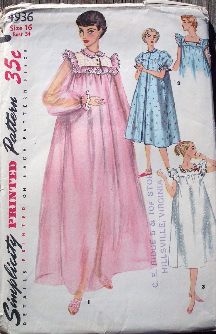 Simplicity 4936 1954
