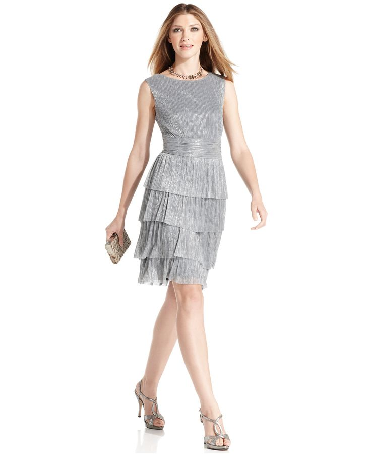 Silver Dress For Women