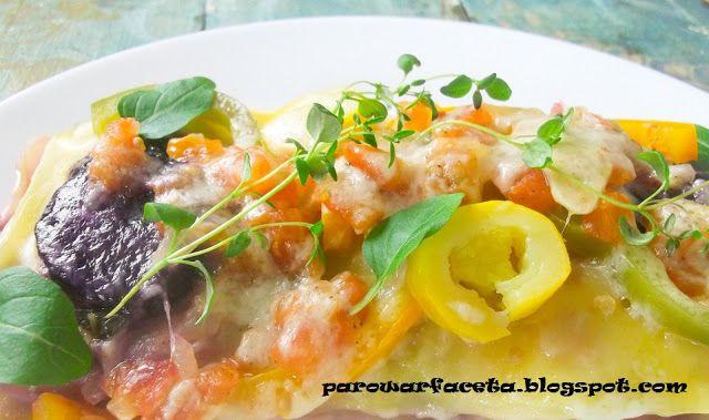 lasagne warzywna na parze