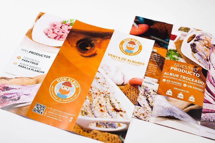 Además de crear la imagen corporativa de Don Albur desde cero, en Grado Creativo - Agencia de publicidad hemos realizado el diseño de los trípticos publicitarios. Nuestra premisa en cualquier trabajo de diseño gráfico es conseguir el atractivo con la máxima legibilidad. A su vez, contamos con fotografía de producto propias que suben la calidad del trabajo aportando un valor añadido y único. Más en: http://bit.ly/2xoQM8Y #donalbur #diseñográfico #tríptico #imagencorporativa #diseño