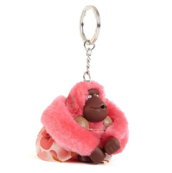 Hawaii Girl Monkey Keychain - Multi | Kipling