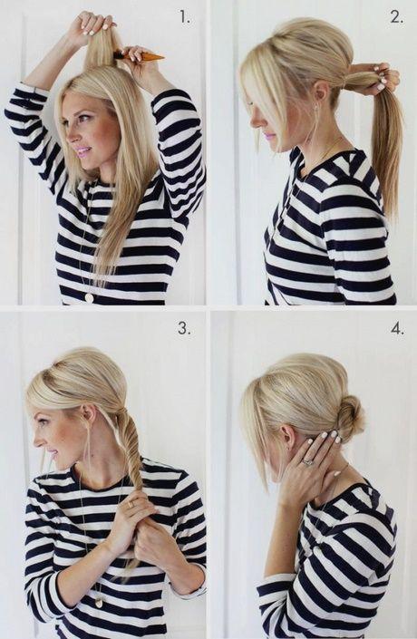 Einfache Schnelle Frisuren I Langemittellange Haare Youtube 15