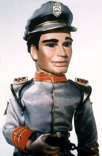 Troy Tempest, the captain of Gerry Anderson's classic kids' TV show and submarine - Stingray