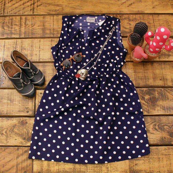 #dress #polkadots #laveintinueve #barcelona #boutique