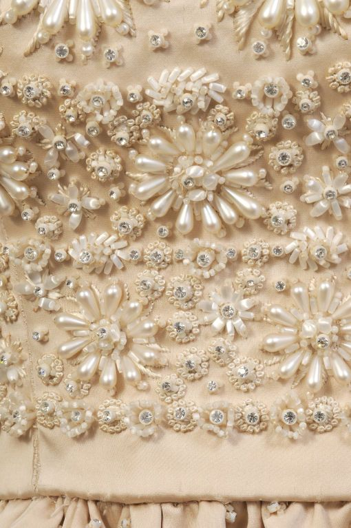 OMG!!! This is so BEAUTIFUL....YSL for Dior Lesage Beaded Silk Dress image 6