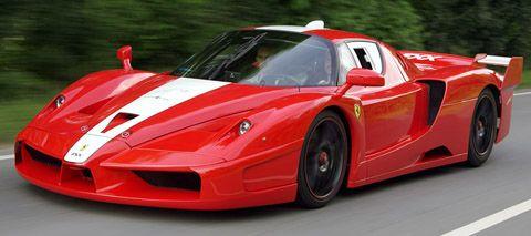 2008 Edo Competition Ferrari FXX jalan pandangan