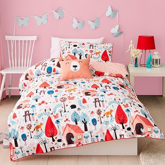 Cute & cosy, this kids quilt cover set is just $29 in store & online!