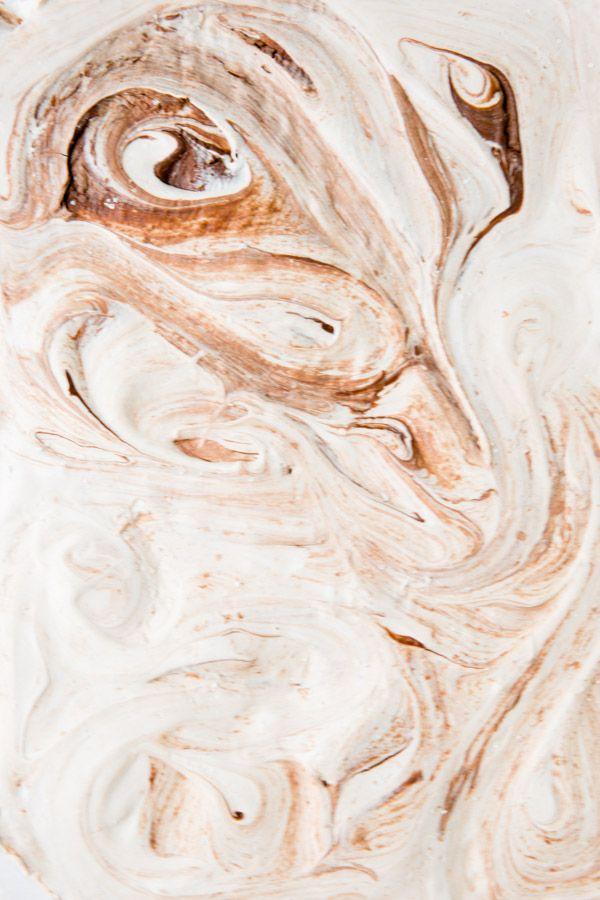 marbled nutella marshmallows