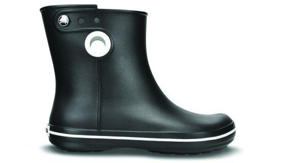 Crocs Jaunt - Botas de agua para mujer - Shorty negro