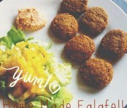 Home Made Healthy Falafel Recipe