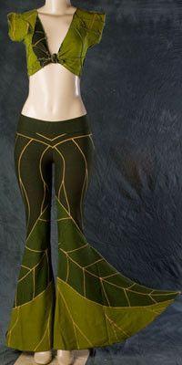 Leaf MeloPhoenix - love this brand, love these dancy leaf pants!