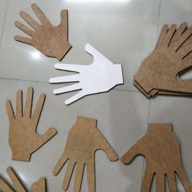 Life of hands. #Art #Installation #hands #mine #home #kkdi
