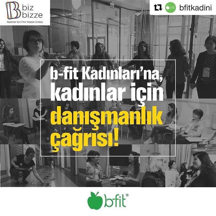 #Repost @bfitkadini (@get_repost)  b-fit Kadınları'na Kadınlar için Danışmanlık Çağrısı: #BirlikteDahaGüçlüyüz Sevgili b-fit Kadınları  Sizi Bizbizze Kadınları'na danışmanlık hizmeti vermeye çağırıyoruz. Siz 'kadının gücü'ne inananlar haftada sadece birkaç saatinizi ayırıp uzmanlığınızı bilgi ve deneyimlerinizi Bizbizze Kadınları ile paylaşarak kadınları çalışma yaşamında güçlendirebilirsiniz.  DANIŞMANLIK PROGRAMI aracılığıyla kadınları desteklemek ve birlikte güçlenmek için linkteki formu…