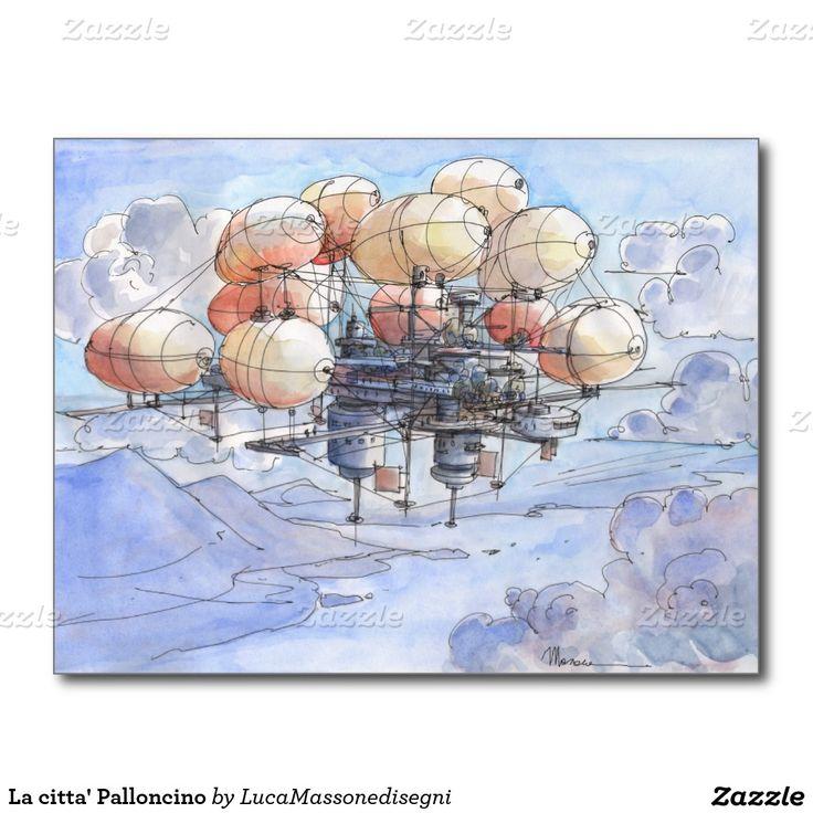 La citta' Palloncino Postcard