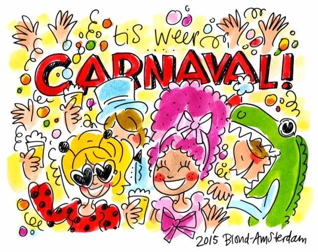 Carnaval Blond Amsterdam
