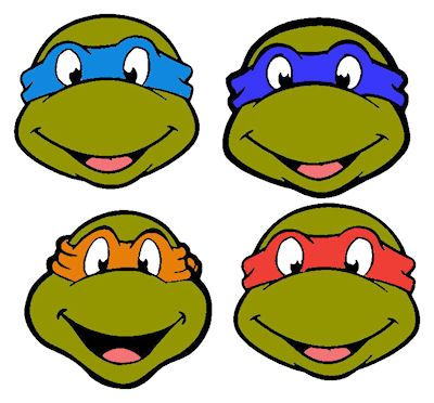 Dragon Crossing: Requests - Teenage Mutant Ninja Turtles Heads - ClipArt Best - ClipArt Best