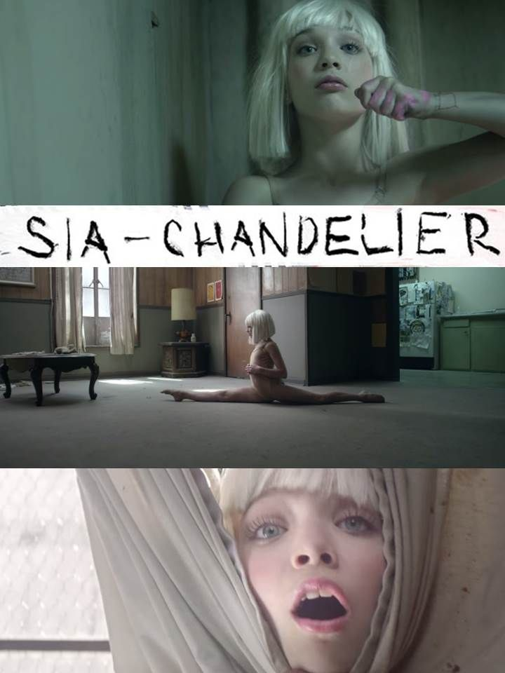 the best part of CHANDELIER - SIA