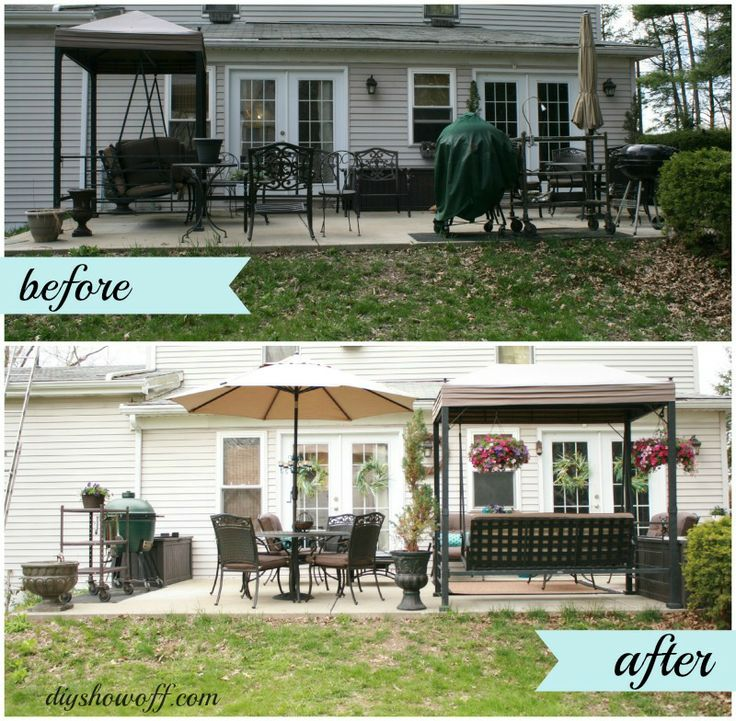 30 Small Backyard Landscaping Ideas On A Budget: 120 Best Home Before And After.. Images On Pinterest