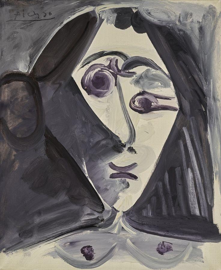Buste de Femme, 1968. Pablo Picasso
