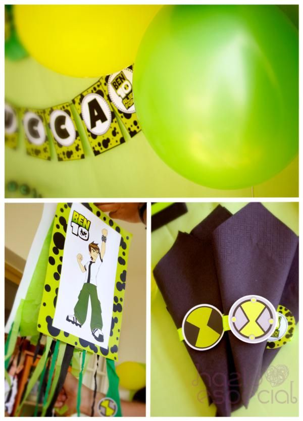 Ben 10 Party via Kara's Party Ideas | KarasPartyIdeas.com #ben #10 #party #ideas (3)